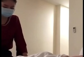 Room service girl satisfy her consumer in hotel room  Part-1