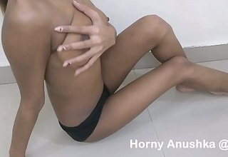 indian college girl fingering effectuation with her big boobs and masturbating