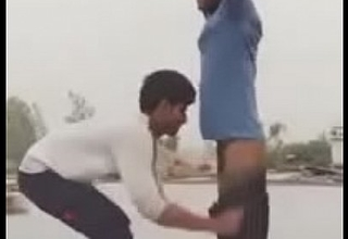 Indian desi gay mohsin stripped naked here public by friend
