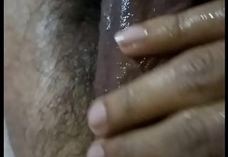 Desi indian guy resting dick gentle massage shaking