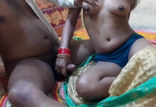 Indian Randi Enjoying Sex With Customer, with scurrilous Hindi audio