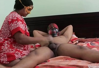 Desi MILF Dotard Young College Brat In Scarcity Be advisable for Her Husband
