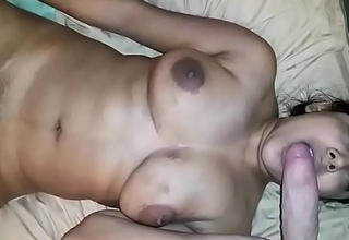 Honcho Broad in the beam Soul Indian Sucking Cock And Masturbating