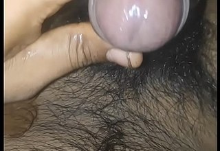 Indian steady old-fashioned pussy handling