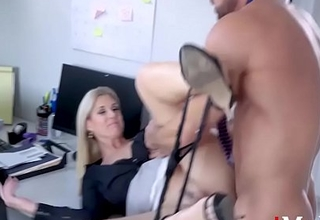 Pretty good Boss Hires Employee For Sex- India Summers