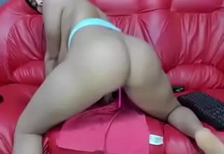 Indian milf getting horny and masturbating