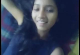 Indian girl showcases their way beautiful jet gaping ass MMS