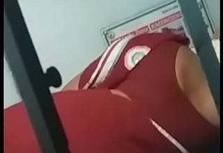 Aunty sleeping indian train