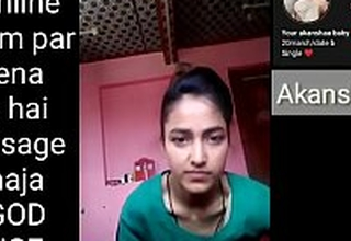 Indian school explicit making Selfie video for her boyfriend
