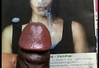 Cum tribute in sexy actress Shruthi hassan