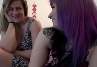 Thick Milfs Share Bushwa - Sabrina Violet with an increment of Clover Baltimore - Family Heal - Alex Adams