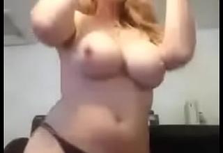 BBW girlfriend bandeau and fuck