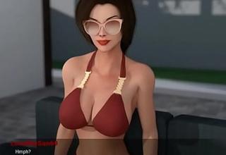 Casa Pervertida Episodio 8 Mi Tia Hermosa se baña conmigo en la Piscina y me masturba con su Gran culo en mi Guevo a escondidas de mi mama