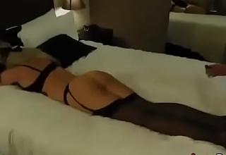 Elegant Hotwife Blindfolded And Shared