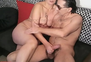 His Mother takes care of him naked