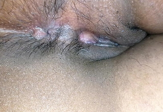 Indian gf shows beside asshole and pussy up close