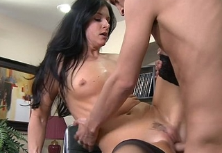 Brunette India Summer gulps cum