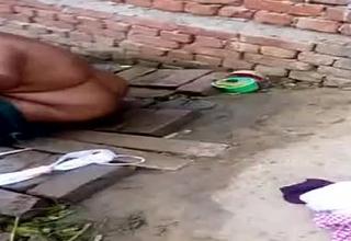 Indian aunty launder