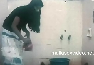 devika removing panties for a dumb fellow in bathroom.TS
