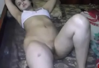 Sonia Bhabhi Indian White bitch Spreading Long Sexy Legs For Sex