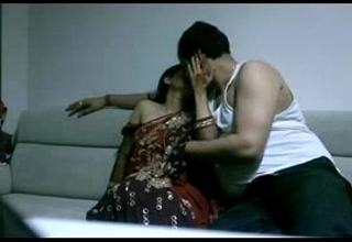 mature indian couple in lounge after party seducing each other sexual set one's sights on