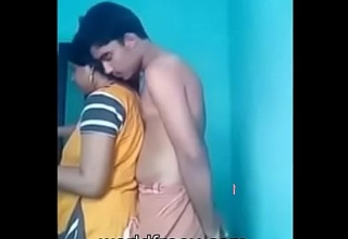 desi aged aunty with her son join up