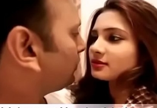 Sexy Indian girl kissing his boyfriend and fuck hardcone