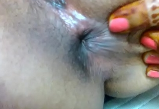 indian girl pooja showing her virgin cunt and fingering her selfish asshole around her bf.