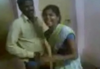 Indian Aunty Invited Her Hubby Friend And Liking