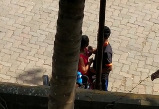 Indian boy desperately wants in the air have sex with a teen girl 02