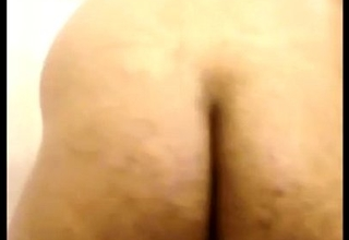 Indian hairy gaping asshole and ass