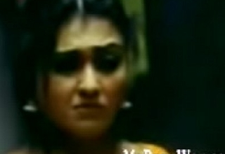 ) busty-babe-sona-thrown-in-bed-and-fucked-in-telugu-movie-mrugam-video