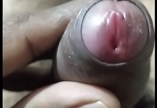 Indian Telugu guy cock kneading