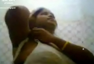 VID-20120203-PV0001-Srivilliputtur (IT) Tamil Thirty yrs old unmarried hawt and X girl Ms. Vidhyavathi undressing her cultural saree in her abode baulk attending a marriage function and this babe recording it in her mobile phone sex porno video