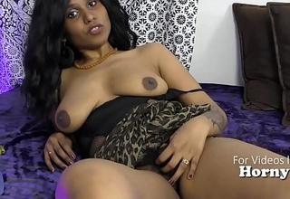 Hot Indian girl humiliating sissy boys JOI POV in Hindi