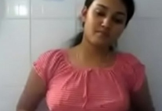 Indian medicinal college girl swathi showing her boobs heavens cam