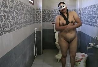 Dipinitta Bhabhi Morose Indian Mother In Law Filmed In Shower