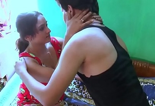 Sweet Indian Girl Very Excited Be fitting of Her Boy Join up HD (new)