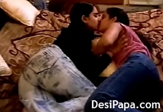 Big Bristols Indian Lesbian Teens Giving a kiss Fucking Pussy