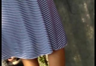Desi cute unused teen hips and panty strip