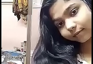 Indian desi girl is opening won't hear be expeditious for clothes