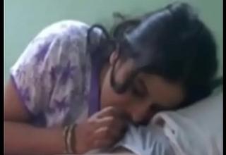 Desi wife sucking flannel