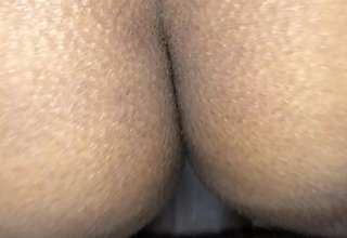 Desi Indian cadger spying his girlfriend while fucking her ass overhead 10th January 2018