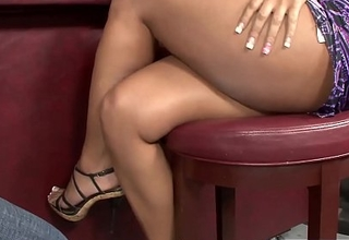 Naughty Gift-wrap Desire gets rammed by strangers bbc handy a club