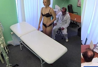 Fakehospital recent doctor receives concupiscent milf undressed and soaked with want