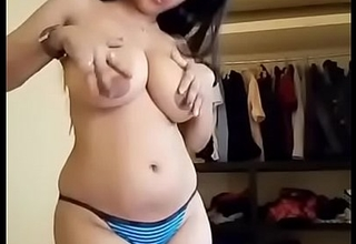 Desi White Color Lady Anjina Menon Equally Her Body Parts On Cam Be incumbent on Her Lover