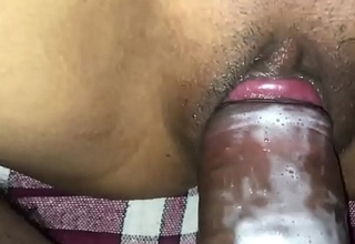 Indian Aunty sweet lad fucking her home