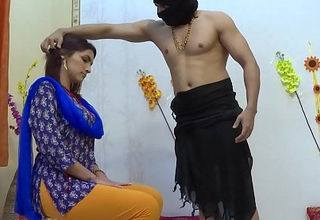 Rough sex all over indian housewife in the ashram