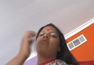 Chubby indian cooky trishna with india raiment plus ashen defy bonking