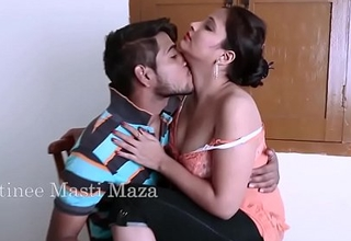 Indian Actress Hot Romance with Small fry